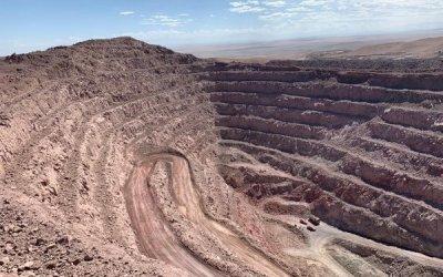 Pampa Camarones, la única minera de cobre de Arica, está en venta