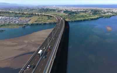 Presupuesto de Puente Industrial aumenta en 36% gracias a acuerdo entre MOP y concesionaria