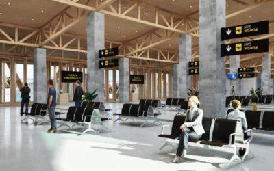 Proyectan para el 2026 inicio de operaciones del nuevo terminal aéreo de Balmaceda