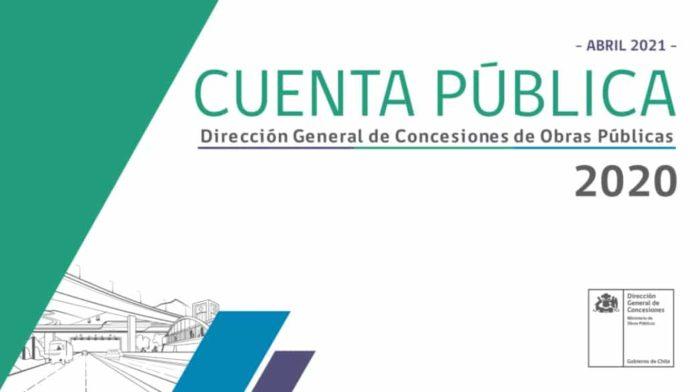 Dirección General de Concesiones entrega Cuenta Pública 2020