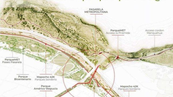 Los proyectos paralelos aledaños al Puente Centenario en AVO I