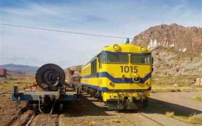 Exportadores bolivianos respaldan reinicio de operaciones de Ferrocarril Arica-La Paz