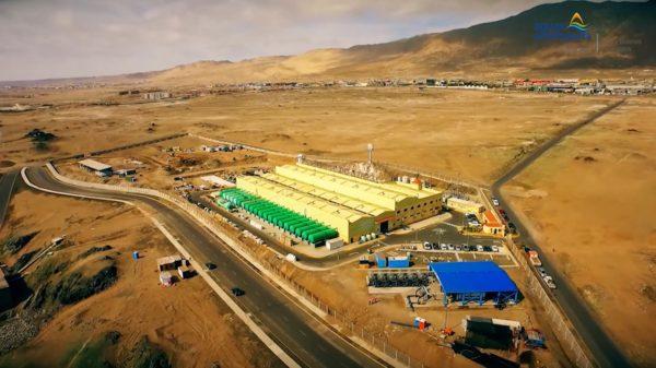 Aguas Antofagasta invierte en desalación para contrarrestar la sequía