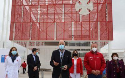 MOP entrega nuevo edificio del Centro Teletón de Coquimbo que reemplazará a edificio destruido por el tsunami del año 2015