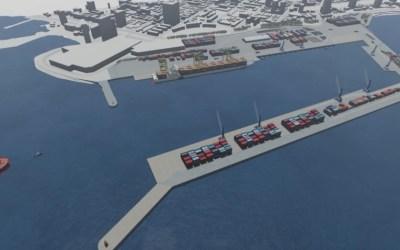En el Puerto de Antofagasta licitan estudio para extender el molo de abrigo y reducir en un 90% los cierres del puerto