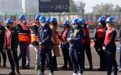 Avanza remodelación en el Estadio Nacional de cara a los próximos Juegos Panamericanos y Parapanamericanos de Santiago 2023