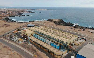 Aguas Antofagasta realizará millonaria inversión para aumentar infraestructura de desalación