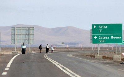 Recomiendan declarar de interés público ampliación de Ruta 5 entre Iquique y Arica