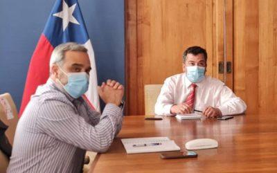 Aguas del Valle presenta a delegado presidencial plan para enfrentar sequía