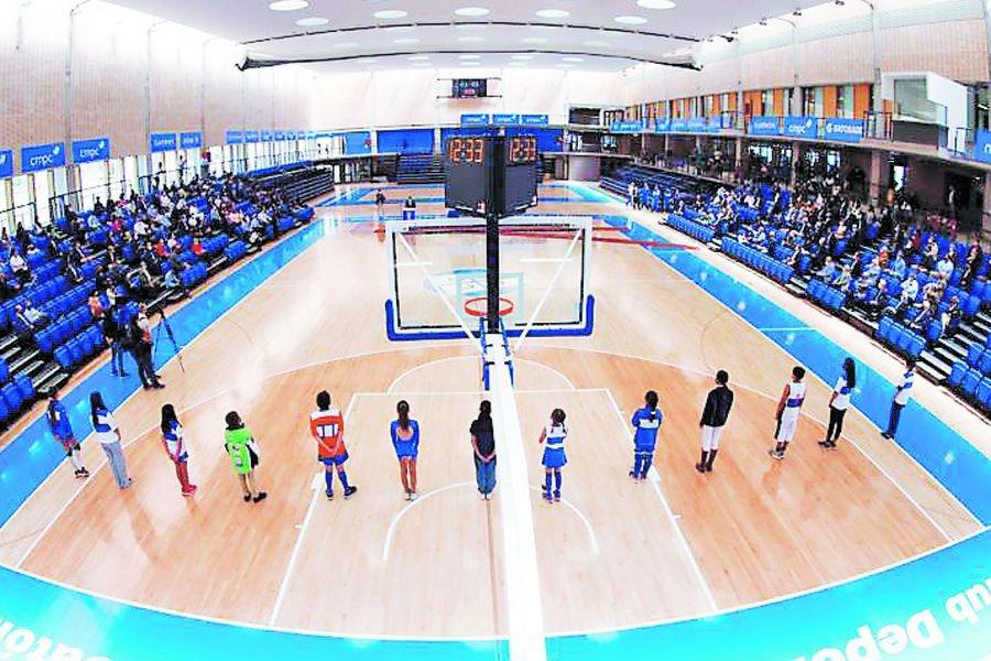 Universidad Católica inauguró su nuevo Edificio de Deportes