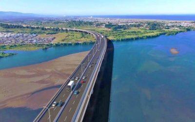 """Hualpén rechaza la forma de actuar en construcción del """"Puente Industrial"""""""