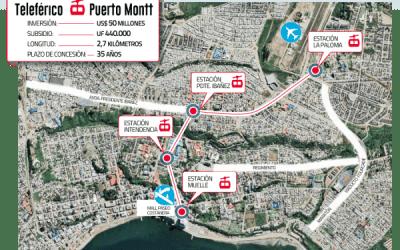 Proyecto de teleféricos para Puerto Montt inicia etapa de información a vecinos
