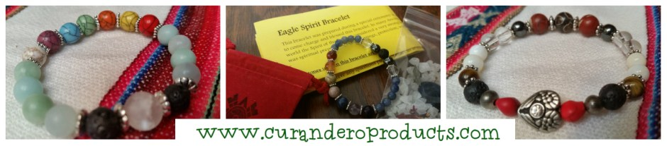 Customized Healing and Blessing Bracelet-Amulet Paloma Cervantes