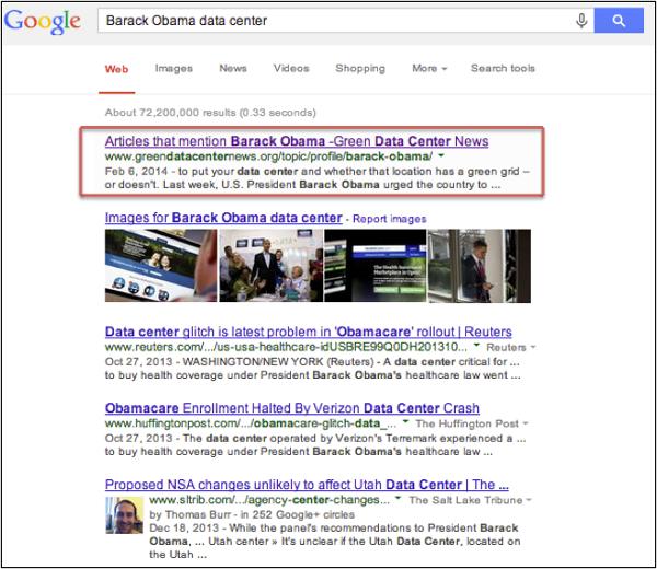 BarackObamaDataCentersearch