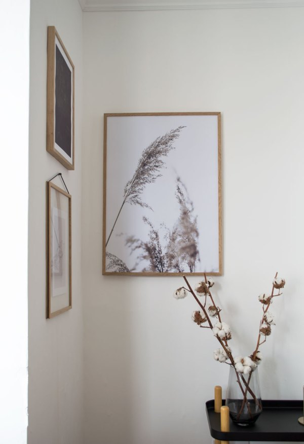 Ad Minimalist Art Desenio In Edwardian Living Room - Curate & Display