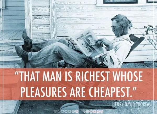 Rich On Cheap Thrills