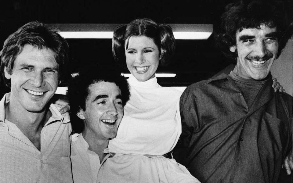 Harrison-Ford-Anthony-Daniels-Carrie-Fisher-and-Peter-Mayhew