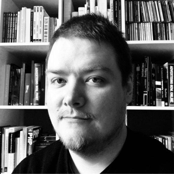 Black and white photo of Paul Betowski