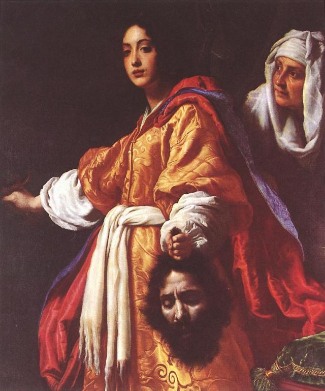 """Allori Cristofano Judith"" by Cristofano Allori (17 October 1577 – 1 April 1621) - http://gallery.euroweb.hu/html/a/allori/cristofa/index.html. Via Wikipedia - http://en.wikipedia.org/wiki/File:Allori_Cristofano_Judith.jpg#mediaviewer/File:Allori_Cristofano_Judith.jpg"