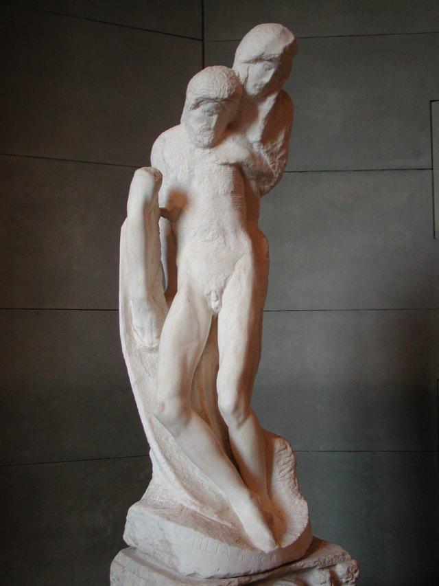 Rondanini Pietà Artist: Michelangelo Location: Sforza Castle Created: 1552–1564 Media: Marble