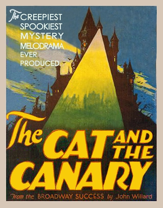 Poster - Cat and the Canary, The (1927)_05