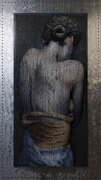 bruce mackley, 3d art, 3d portraits, art prize winners