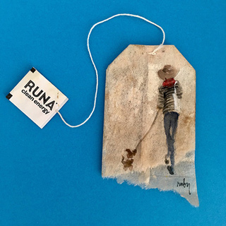 tea bag art, teas of india, famous american artists, best tea bag tea