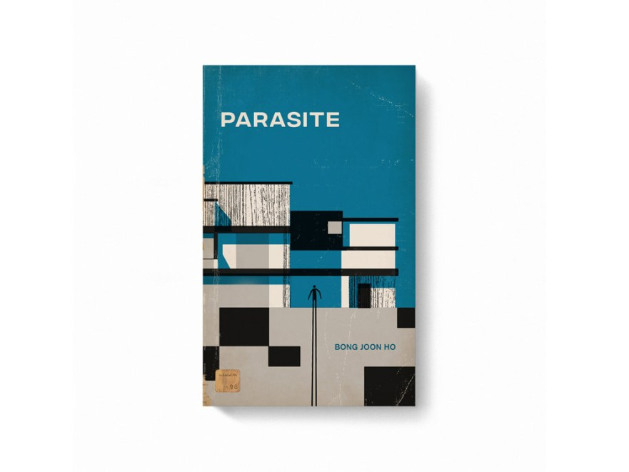 movie posters, book cover designs, blockbuster movies, parasite movie poster
