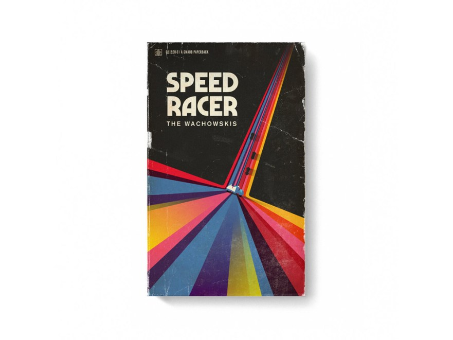 movie posters, book cover designs, blockbuster movies, speed racer movie poster