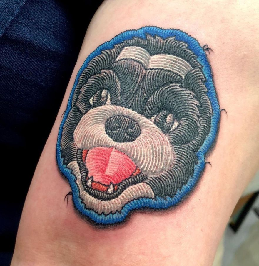 embroidery patches tattoo ideas tattoo designs min zumi authentink sydney tattoo studio