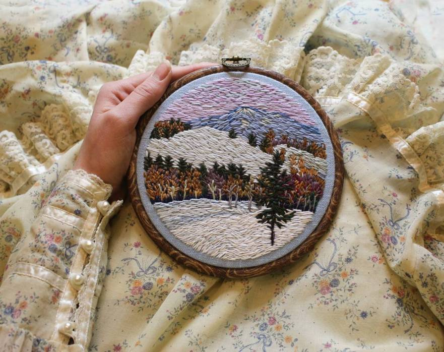 embroidery designs, designer embroidery, embroidery ideas, embroidery art, embroidery artist