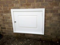 Exterior Crawl Space Access Door