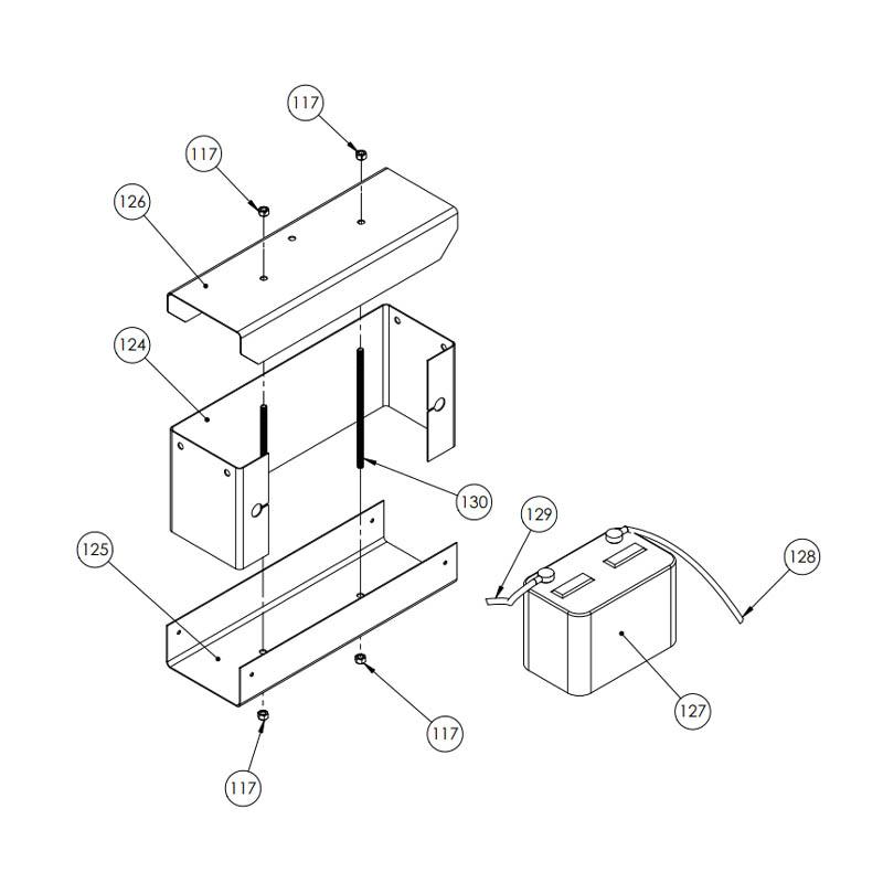 MC850 Battery Box Assembly at CurberParts.com
