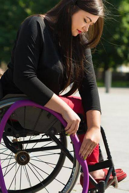 wheelchair grips burgundy dining chairs improve the grip and push of manual wheelchairs with rim covers