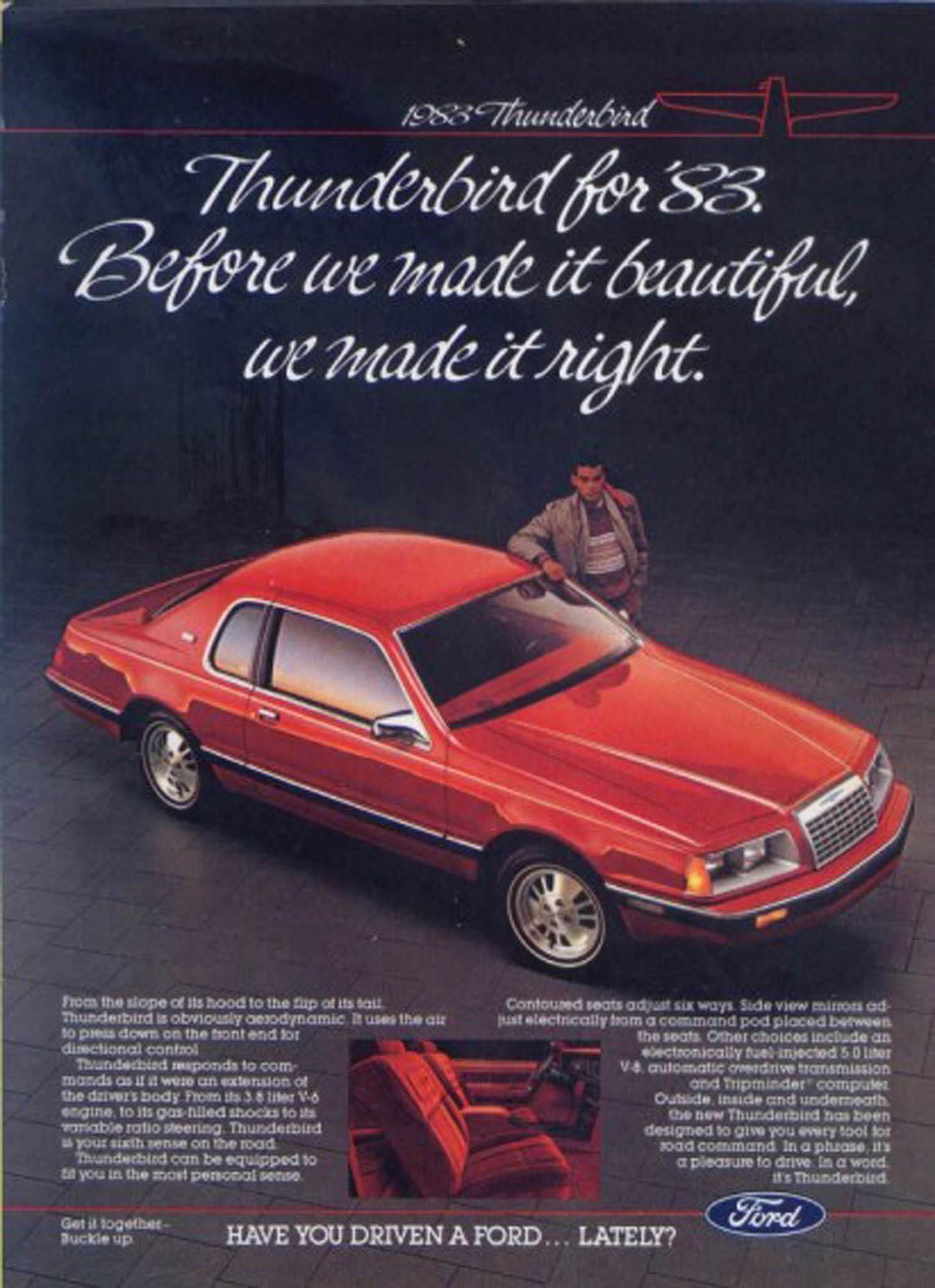 1986 ford thunderbird elan