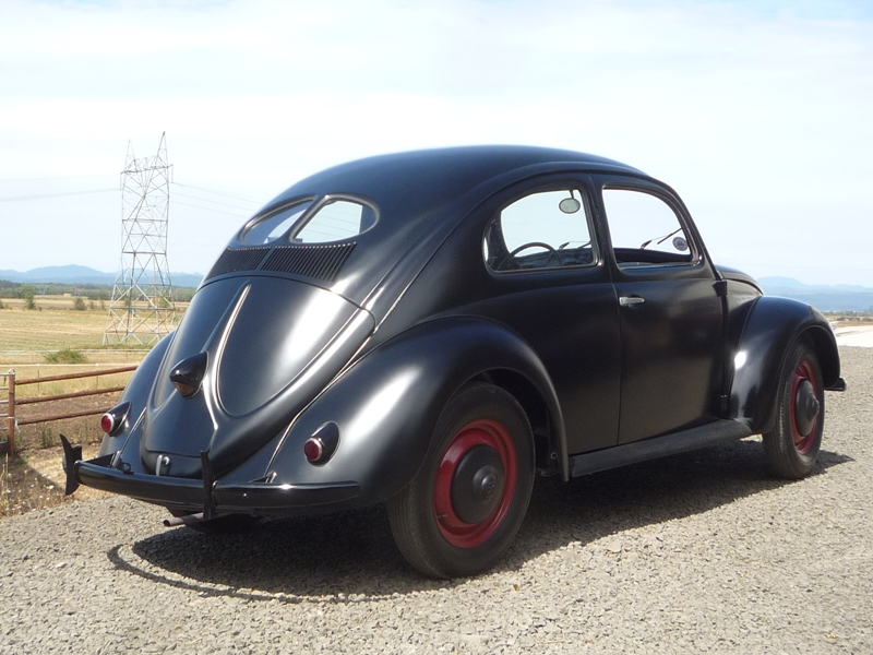 Curbside Classic 1946 Volkswagen 1100 Type 11 The