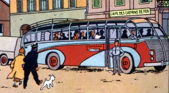 Tintin saurer