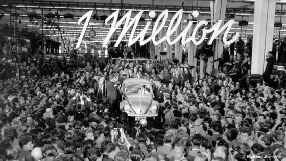 VW 1955 one million