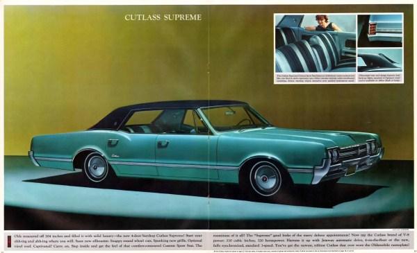 Olds Cutlass 1966 supreme 4dr