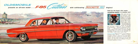 Oldsmobile F-85 Cutlass 1961 Foldout-02-03