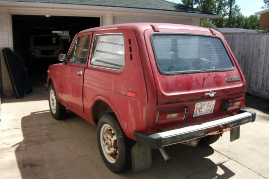 Parts Car 1991 Lada Niva