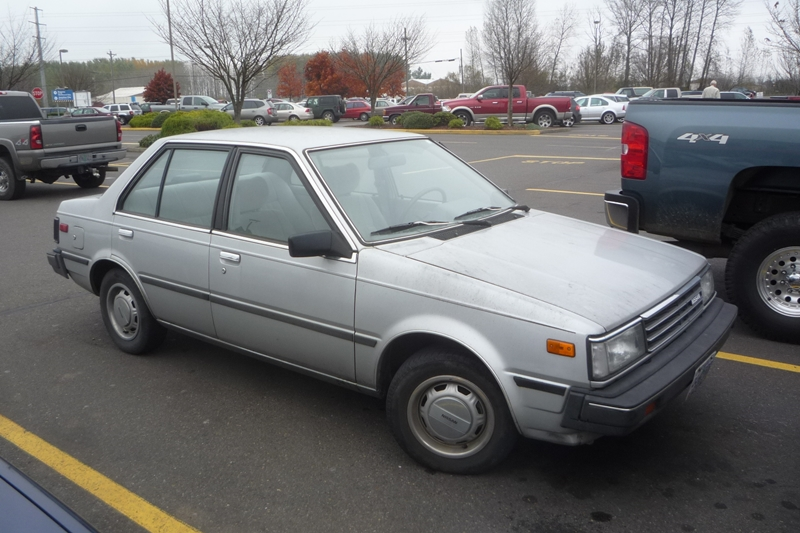 Curbside Classic: 1985 Nissan Sentra (B11) – A Fish Out Of ...