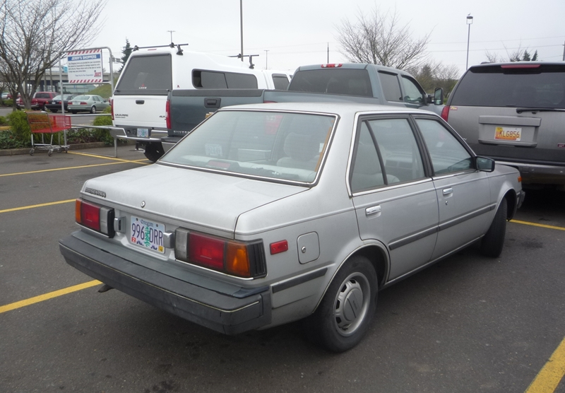 Curbside Classic 1985 Nissan Sentra B11  A Fish Out Of Rodeo Drive