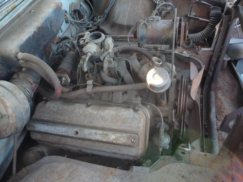 331 cubic inch Chrysler hemi