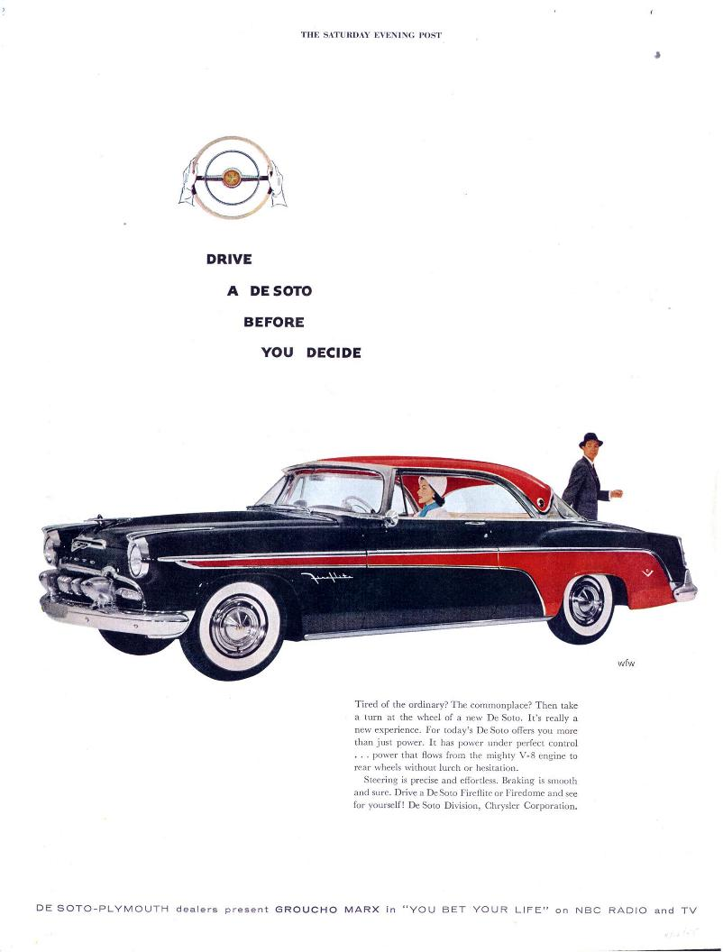 Curbside Classic: 1958 DeSoto Fireflite: The Forward Look