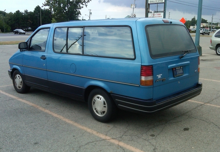 Incredible Curbside Classic 1995 Ford Aerostar How Hard Can It Be To Unemploymentrelief Wooden Chair Designs For Living Room Unemploymentrelieforg
