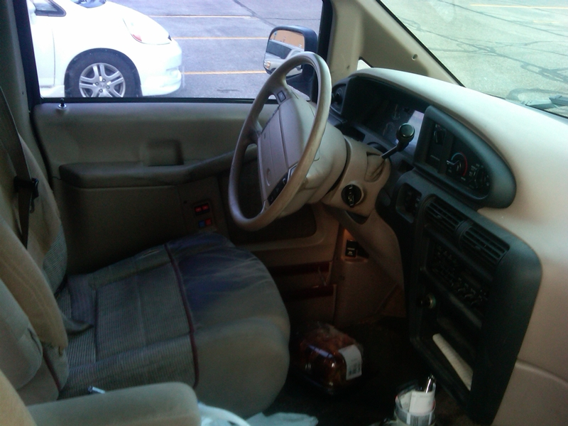 Swell Curbside Classic 1995 Ford Aerostar How Hard Can It Be To Unemploymentrelief Wooden Chair Designs For Living Room Unemploymentrelieforg