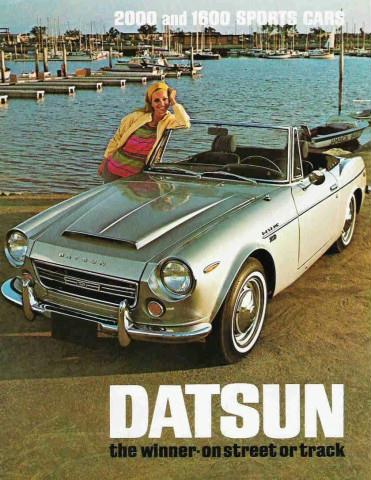 Curbside Classic: 1967 Datsun Sports 1600 (SPL311) – My
