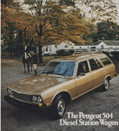 Cars Of A Lifetime Peugeot 504 Diesel Wagon The Long Slow Trip