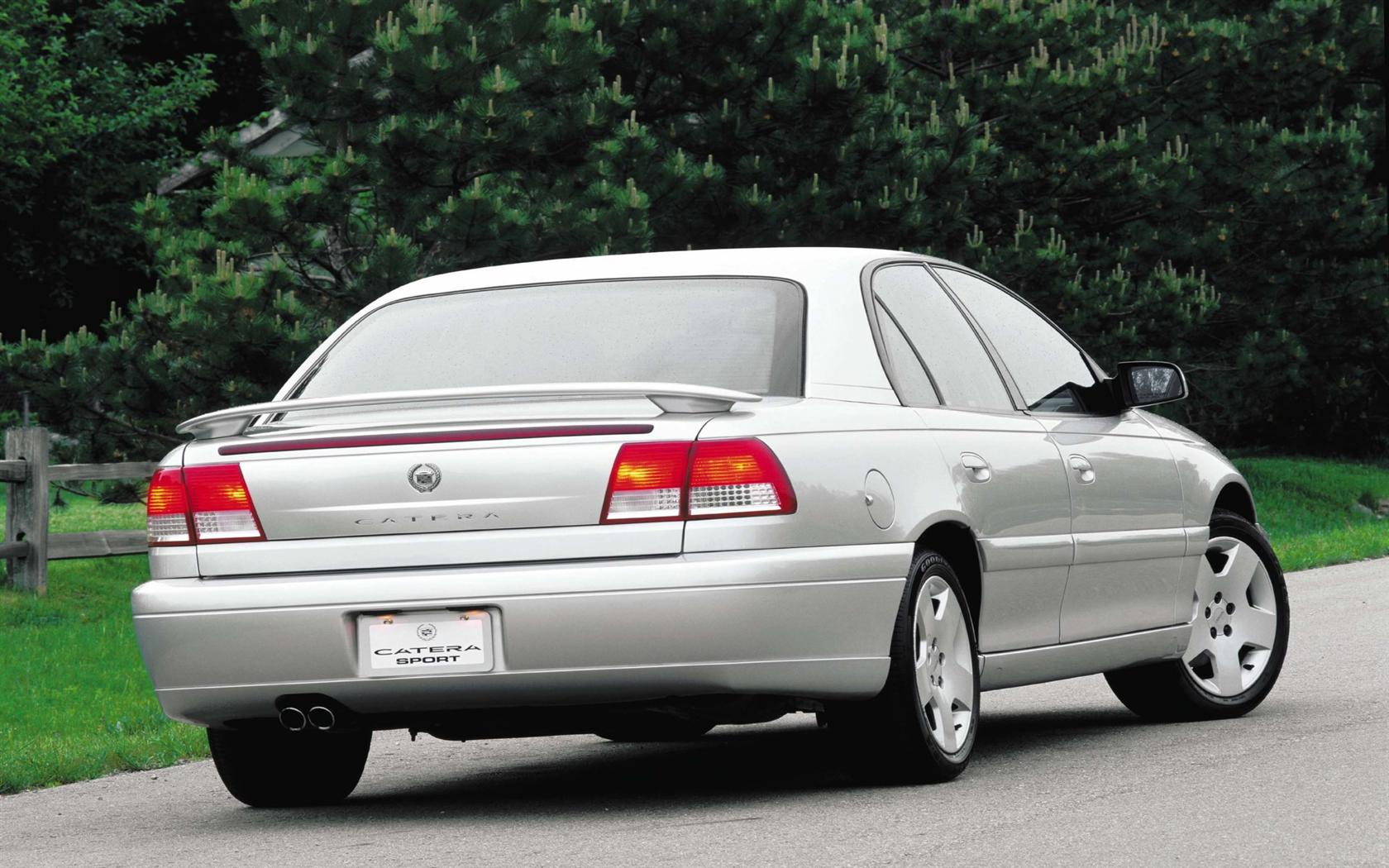 Between the demise of the allante which was never really competitive in its class and the introduction of catera in 1997 cadillac had only the seville to